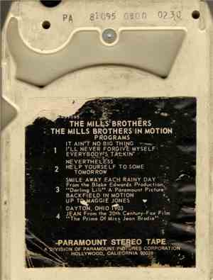 The Mills Brothers - The Mills Brothers In Motion