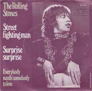 The Rolling Stones - Street Fighting Man / Surprise Surprise / Everybody Ne ...