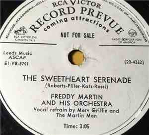 Freddy Martin And His Orchestra - The Sweetheart Serenade / Honey Lips