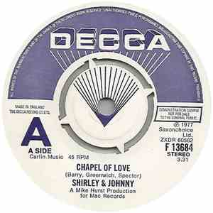 Shirley And Johnny - Chapel Of Love
