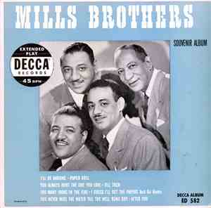 The Mills Brothers - Souvenir Album